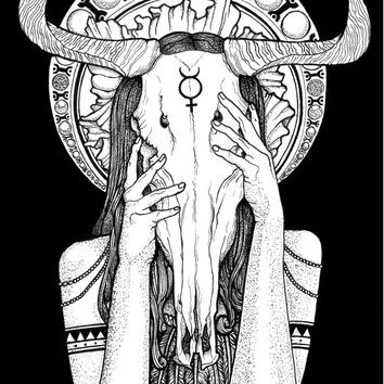 The Wiccan - Art Prints