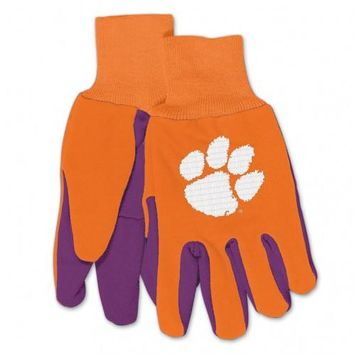 Clemson Tigers - Adult Two-Tone Sport Utility Gloves