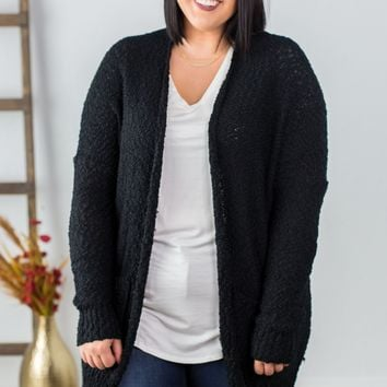 Curves Knitted Cardigan- 2 Options