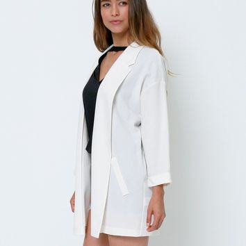 Nothing Like That Blazer - Ivory