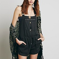 Free People Womens Berlin Backless Shortall