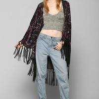 MINKPINK X UO Crush Burnout Velvet Jacket - Urban Outfitters