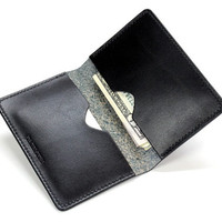 Mens Wallet, Mens Leather Wallet, Mens Black Leather Wallet, Simple Wallet, Simple Leather Wallet