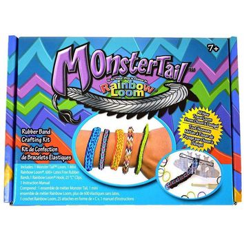 Rainbow Loom Monster Tail Loom