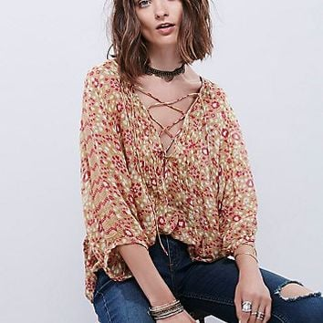 FP One Womens FP One Maya Lace Top