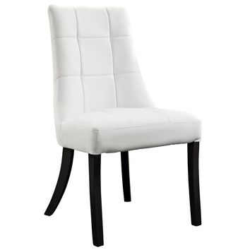 Noblesse Dining Faux Leather Side Chair