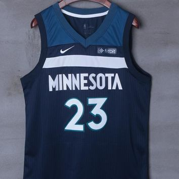 Minnesota Timberwolves #23 Jimmy Butler Nike Icon Edition NBA Jerseys