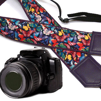 Butterfly Camera Strap. Camera strap. Camera accessories. Photographer gift.