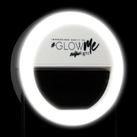 GlowMe LED Selfie Ring Light for Smartphones (in Black, Pink, and White) - Impressions Vanity Co.