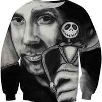 What Nightmares Are Made Of - Tim Burton - Jack Skellington - Nightmare Before Christmas Sweatshirt