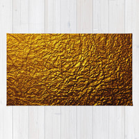 INFINITE GOLD Area & Throw Rug by C Ya Monday | Society6