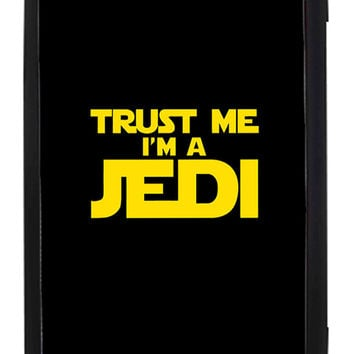 Star Wars Trust Me I am Jedi Samsung Galaxy S3 Cases - Hard Plastic, Rubber Case