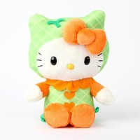 "Hello Kitty 8"" Fruit Plush: Melon"