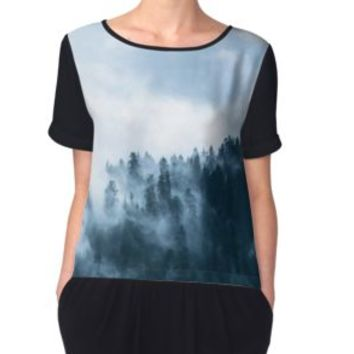 'Fog Forest Mointain' Leggings by Creative-World