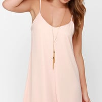 Goody Gumdrops Peach Slip Dress