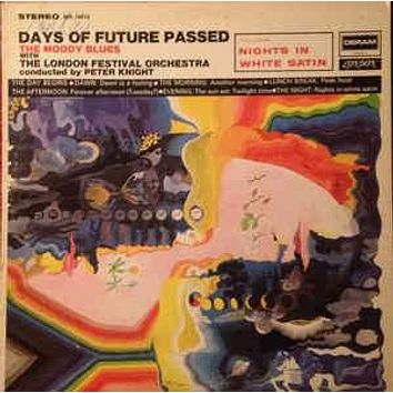 The Moody Blues - Days Of Future Passed (LP, Album, RE, 18 )