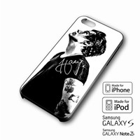 Harry Styles black and white 2 iPhone case 4/4s, 5S, 5C, 6, 6 +, Samsung Galaxy case S3, S4, S5, Galaxy Note Case 2,3,4, iPod Touch case 4th, 5th, HTC One Case M7/M8