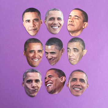Obama Emotions Sticker Set