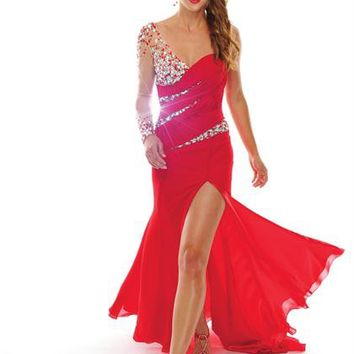 Precious Formals V10462 at Prom Dress Shop