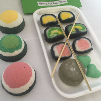 Sushi Platter Bubble Bars