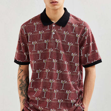 Stussy Martini Jacquard Polo Shirt - Urban Outfitters