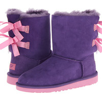 UGG Kids Bailey Bow (Big Kid) Purple Reign/Lipgloss - Zappos.com Free Shipping BOTH Ways