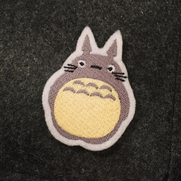 My Neighbor Totoro - Studio Ghibli - Embroidered Premium Patch / Iron On