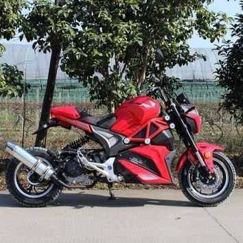 2017 Venom x21 50cc - Automatic Moped / Scooter (Red)