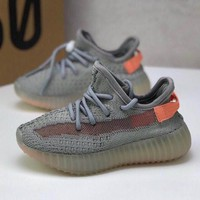 adidas Yeezy Boost 350 V2 True Form Toddler Kid Running Shoes Child Low Top Sneakers - Best Deal Online