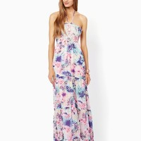 Exotic Palms Maxi Dress | Fashion Apparel - Tropical Escape | charming charlie