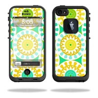 Mightyskins Protective Vinyl Skin Decal Cover for LifeProof iPhone 5/5s/SE Case fre Case wrap sticker skins Slices