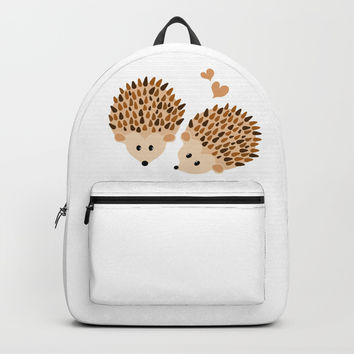 Hedgehogs Backpacks by VanessaGF