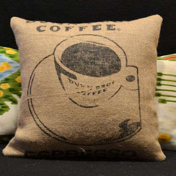 Best burlap coffee bags products on wanelo for Decorative burlap bags