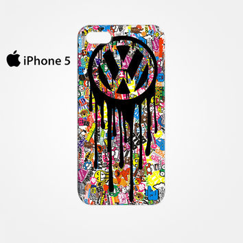 VW Volkswagen Bomb Sticker for Iphone 4/4S Iphone 5/5S/5C Iphone 6/6S/6S Plus/6 Plus 3D Phone case