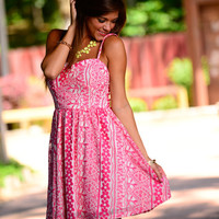 Seeing Is Believing Dress, Pink