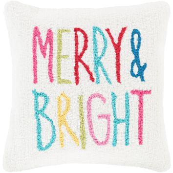 Holiday Merry & Bright Pillow