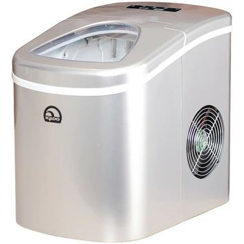 Igloo(R) ICE108-SILVER Compact Ice Maker (Silver)
