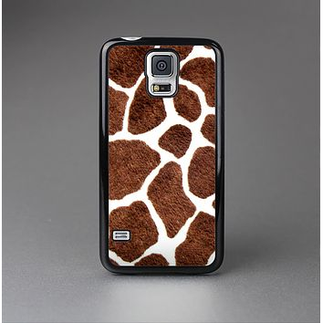The Real Giraffe Animal Print Skin-Sert Case for the Samsung Galaxy S5