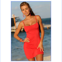 Sexy Red Beach Dress