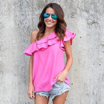 Sexy Top  Shirts Loose Casual Women Clothes