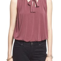 Free People 'Forget Me Not' Tie Neck Tank | Nordstrom