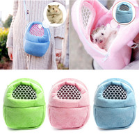 1 x Hamster Packet Bag Hamster Rat Hedgehog Chinchilla Ferret Puppy Cat  Carrier Packet Sleep Hanging Bag  Pet Supplies