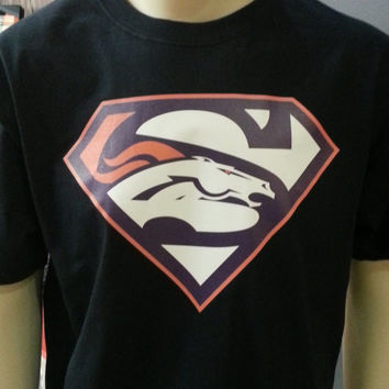 Denver Broncos Superman Super Bowl T-shirt for men