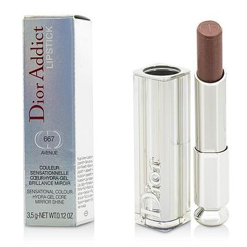 Dior Addict Hydra Gel Core Mirror Shine Lipstick - #667 Avenue - 3.5g-0.12oz