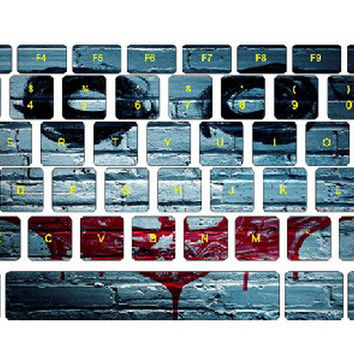 Batman Graffiti Keyboard Stickers / Decals For MacBook (Pro 13 Inch Retina)