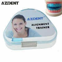 AZDENT Tooth Trainer Orthodontic Appliance Dental Braces Silicone Alignment Braces Oral Hygiene Dental Alginate