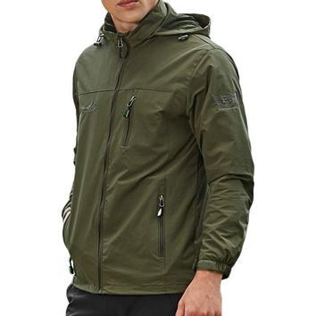 Outdoor Waterproof Windproof Hooded Jackets