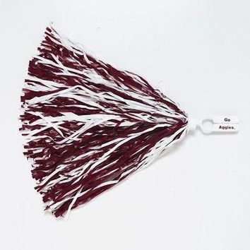 Licensed Texas A&M Aggies NCAA Cheer Pom Poms Bundle 2 Pack KO_19_1