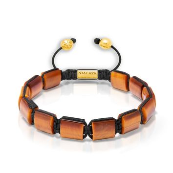 The Dorje Flatbead Collection - Brown Tiger Eye