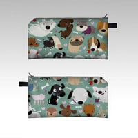 Dogs by MJdaluz (Pencil case)